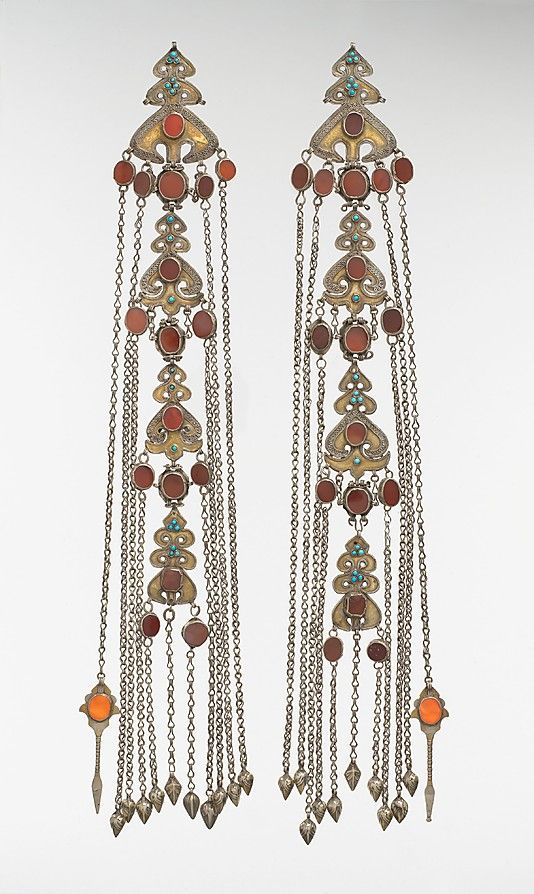 Head ornament, late 19th–early 20th century - Iran or Central Asia, probably Yomut