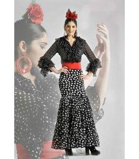 Conjunto: blusa Coral y falda Candil - trajes de flamenca 2016 - Roal