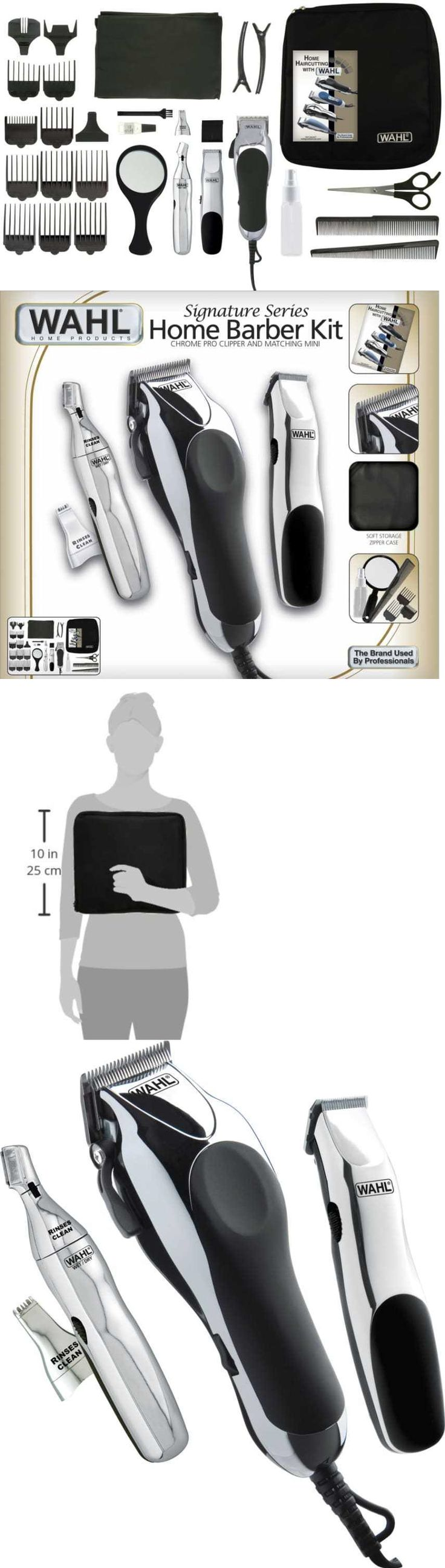 Shaving: Cordless Hair Clippers Trimmer Wahl Professional Cut Shaver Salon Barber Kit Pro BUY IT NOW ONLY: $62.09