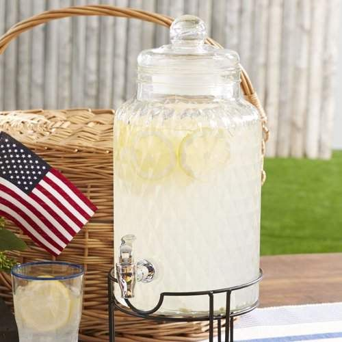Cute Beverage Dispenser Set Laurel Foundry Modern Farmhouse Laurine 2 Piece Beverage Dispenser Set #ad #homedecor #farmhouse