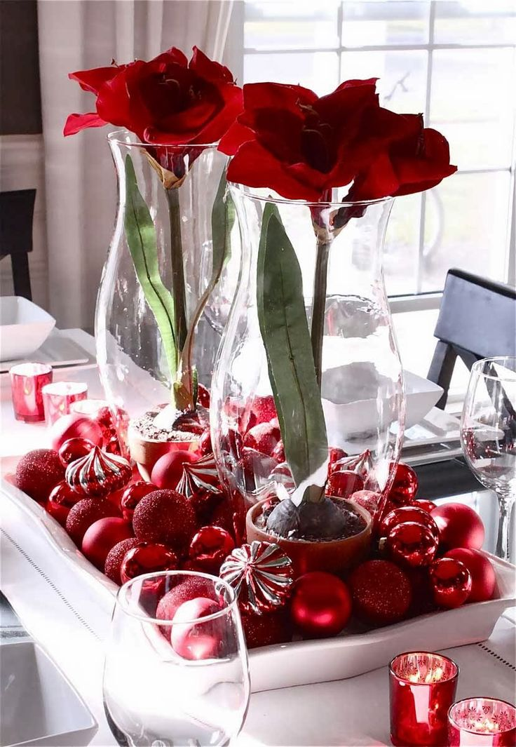 Pretty table center piece