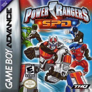 Power Rangers SPD - Game Boy Advance Game