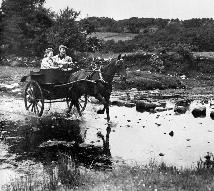 "1951, ""The Quiet Man"", filmed on location in Ireland."