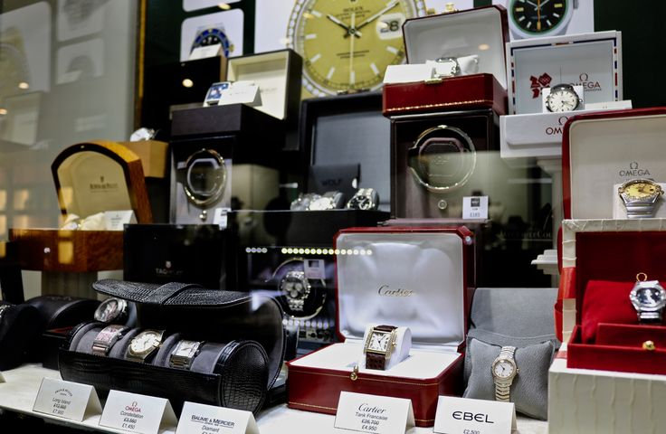 We stock luxury pre-owned watches including Cartier, Rolex, Omega, Tag Heuer, Audemars Piguet and more.