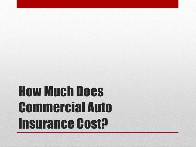 Do You Need Commercial Auto Insurance By Floyd Arthur Ppt Car Insurance Commercial Insurance Umbrella Insurance