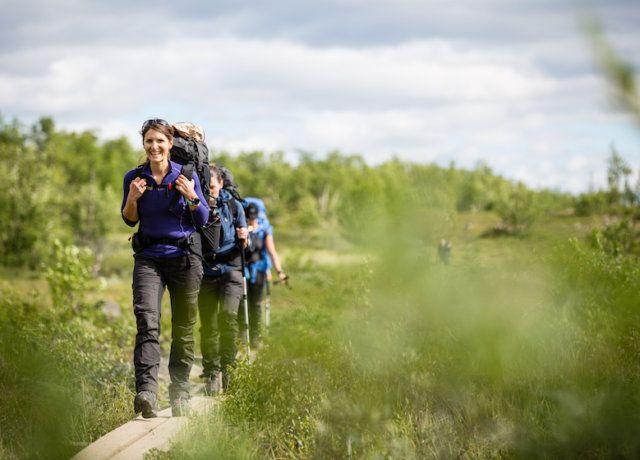 Women on the Trail: Hiking Fjällräven Classic Sweden
