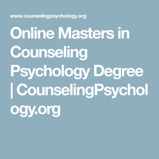 Online Masters in Counseling Psychology Degree   CounselingPsychology.org