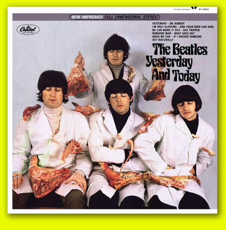 Butcher Cover Letter: The Beatles Yesterday And Today Butcher Cover Fantasy