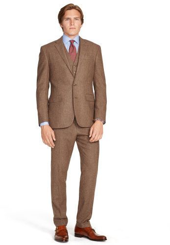 Brown Suit by Polo Ralph Lauren. Buy for $1,795 from Ralph Lauren: Mens Suits
