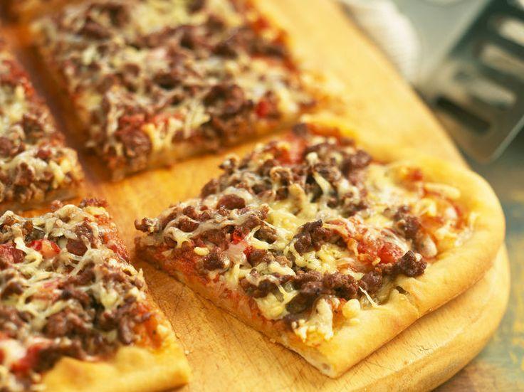 Pizza bolognaise, facile et pas cher