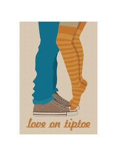 'Love on Tiptoe', on Minted.comWall Art, Arty Pants, Art Appreciation, Tiptoe, Wedding Invitations, Lights Heart, Art Prints, Gallery Wall, Products