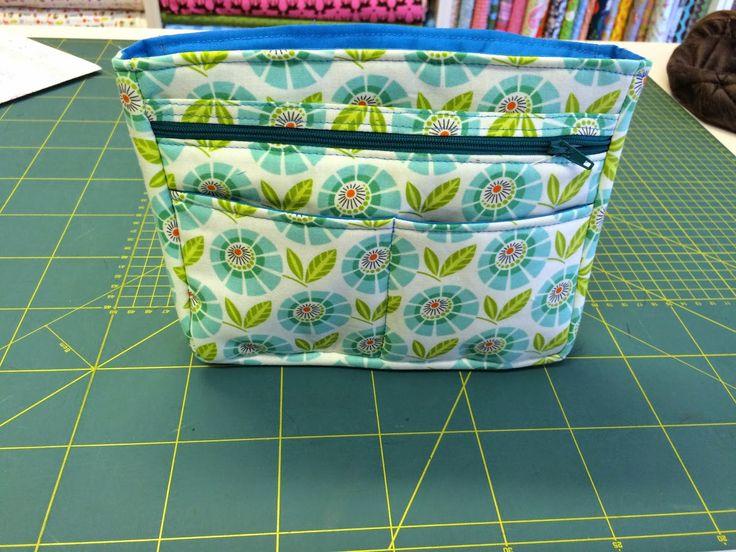 Taschenorganizer - free pattern
