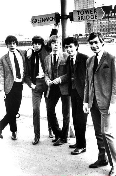The Rolling Stones 1960S | The Rolling Stones in the early 1960s. #TheRollingStones