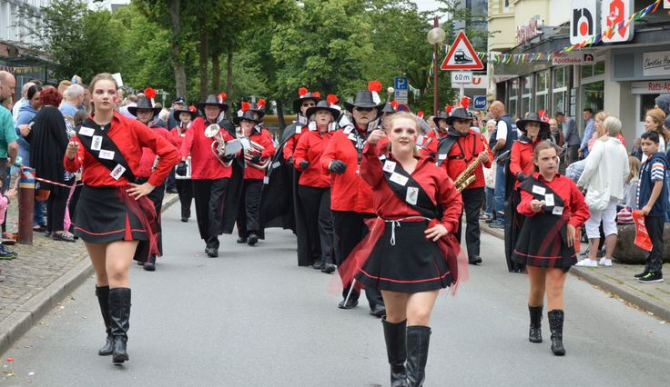 Zomercarnaval Gevelsberg. Thema Queen of Hearts