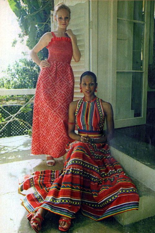 1970s Sundresses love the one in front hate the one in the back