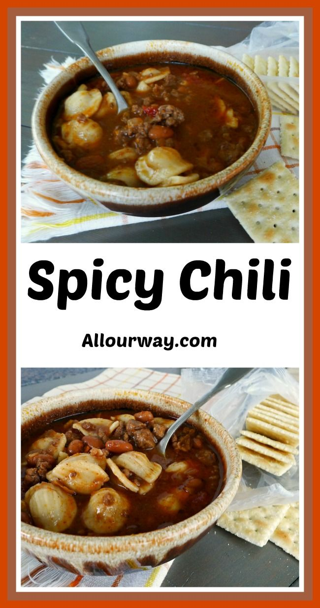 Spicy Chili - All Our Way