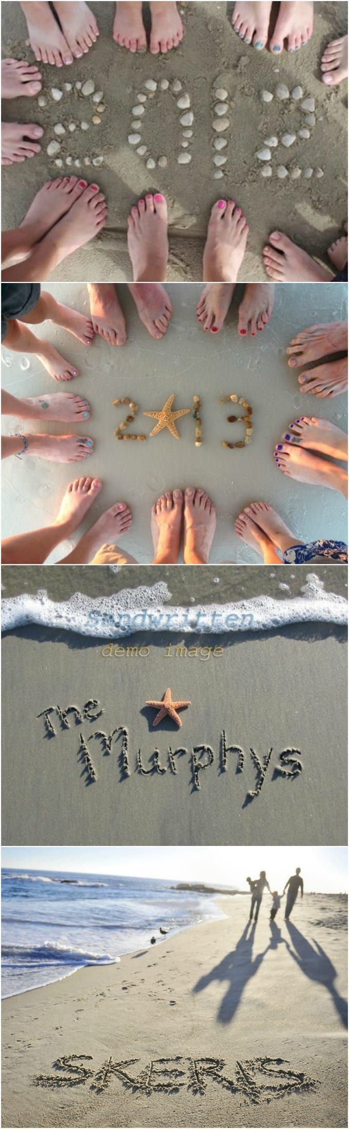 Great beachwriting ideas and other great beach pictures and beach hacks and tips
