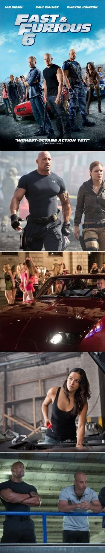 Fast & Furious 6, Vin Diesel, Paul Walker, Dwayne Johnson and Michelle Rodriguez lead a cast of returning all-stars as the global blockbuster franchise built on speed delivers the biggest adrenaline rush yet. Hobbs (Jo..., #DVD, #Movies