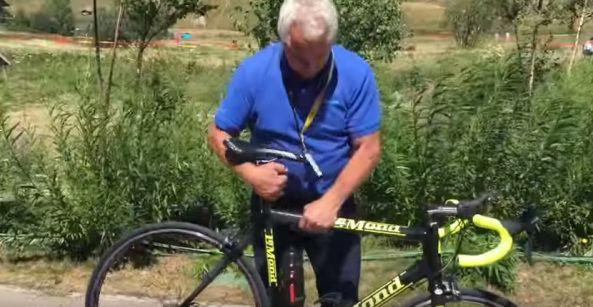 En #vídeo motor eléctrico escondido en una bicicleta de carreras  Vehículos bicicleta electrica video