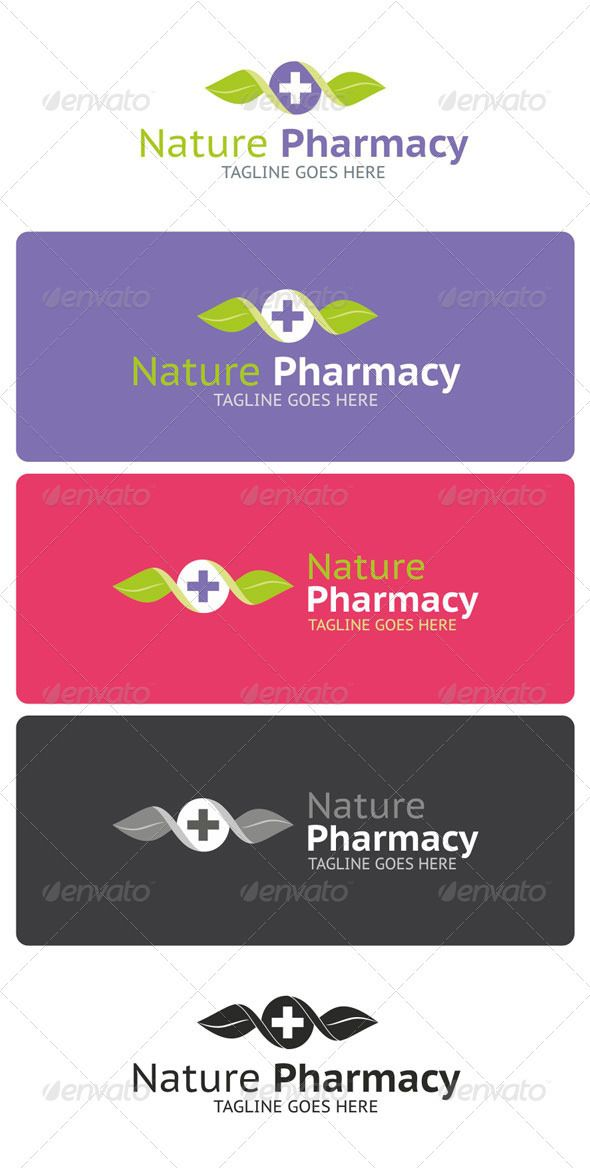 Nature Pharmacy Logo Template  Like it very much!