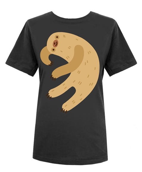 Lazy Sloth T-shirt (mens)
