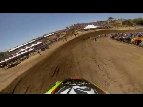 GoPro HD: Ryan Villopoto Moto 1 - Hangtown MX Lucas Oil Pro Motocross Championship 2013