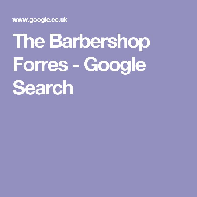 The Barbershop Forres - Google Search