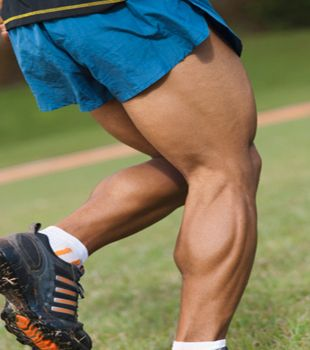Say goodbye to those chicken legs. Progress your reps and poundage to build big calves.