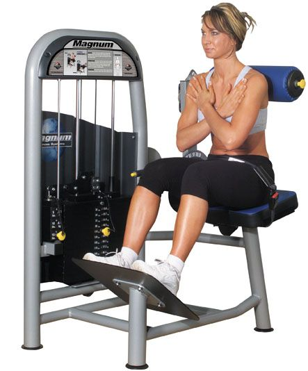 Upper back exercise machine for a flat stomach