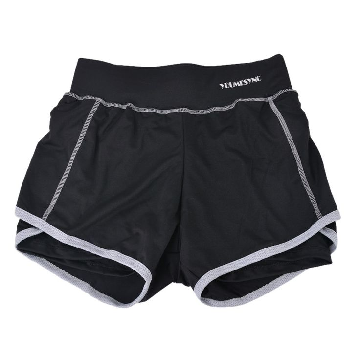LASPERAL Summer Fitness Gym Sport Shorts Women Two-Pieces Sports Shorts Female Jogging Workout Shorts For Women Running