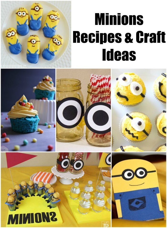 minions recipes and craft ideas
