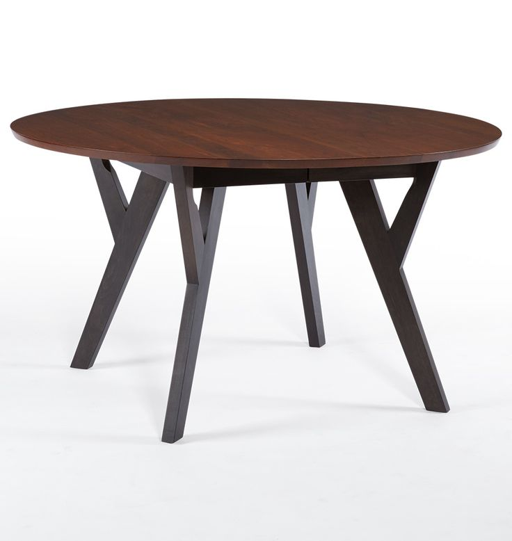 Round Extendable Table Part - 35: Cascade Round Extendable Table