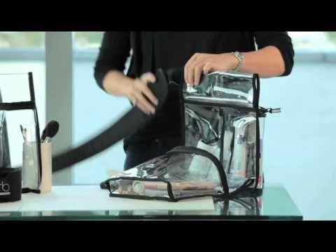 Video sobre este increíble sistema de cinturón para maquillaje y accesorios