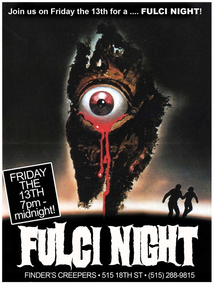 When we had a brick and mortar shop we had horror movie nights all the time! It was so much fun. I miss that the most!