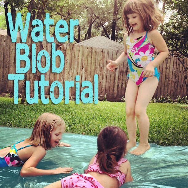 DIY Water Blob Tutorial via @@Symanthia Chambers CookItCraftItShareItFeature summerfun tutorial DIY