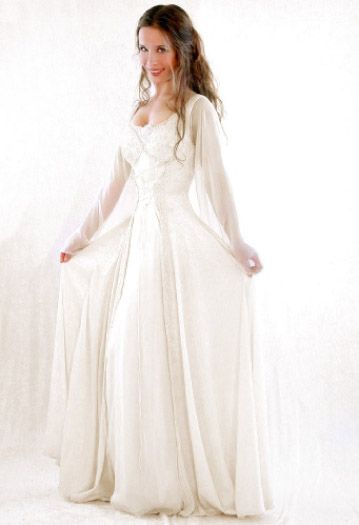 Medieval and Celtic Wedding Gowns | Custom Storybook Wedding Gowns | Canadian, Maritime, Fairytale | Faerie Brides | The Angel