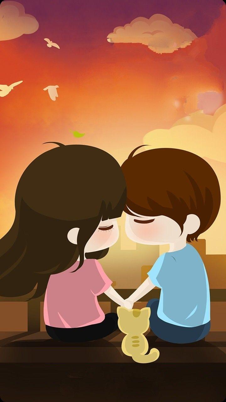 60 Cute Love Couple Phone Wallpapers Cute Love Wallpapers Cute Love Cartoons Love Couple Wallpaper