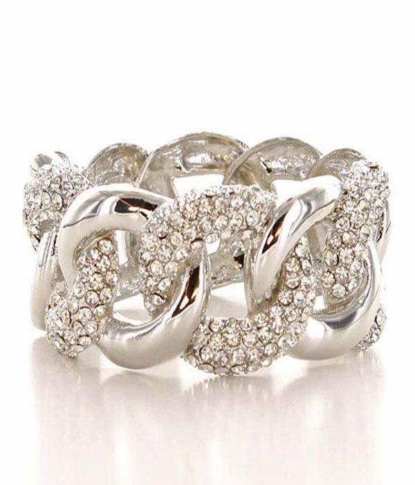 Jessica Chain Link Bracelet