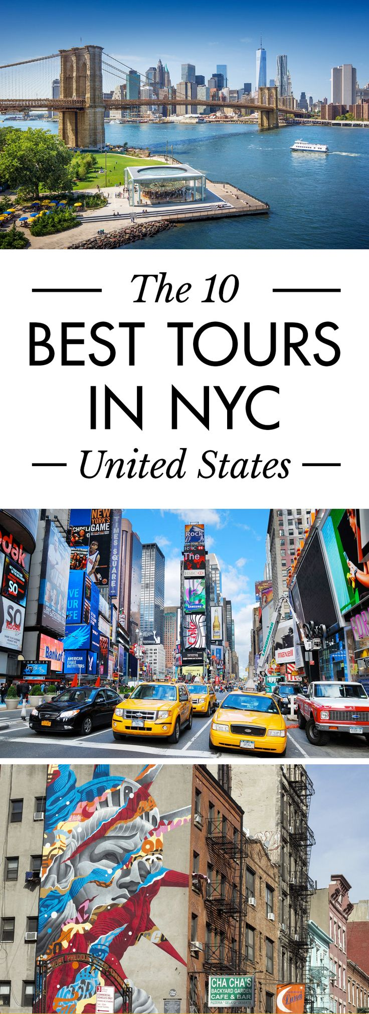 Click the pin to discover the best tours in NYC. Don't miss out, there are so many amazing things to do in New York City.