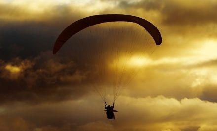 Tandem siklóernyős repülés