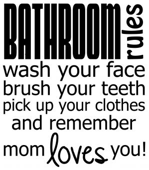 17 best images about children 39 s bathroom on pinterest for Bathroom quotes svg