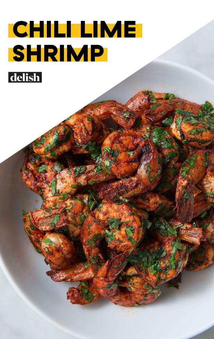 Chili Lime Shrimp = Gesundes Abendessen in kürzester Zeit   – Dinner Recipes