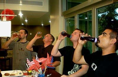Baby Bottle Beer Chug For Men Game: First One To Finish Wins Prize