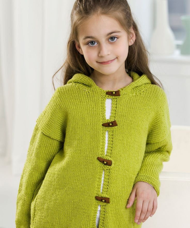 Knitting Pattern Hooded Jacket : 17 Best images about Knitting Childrens Patterns on ...