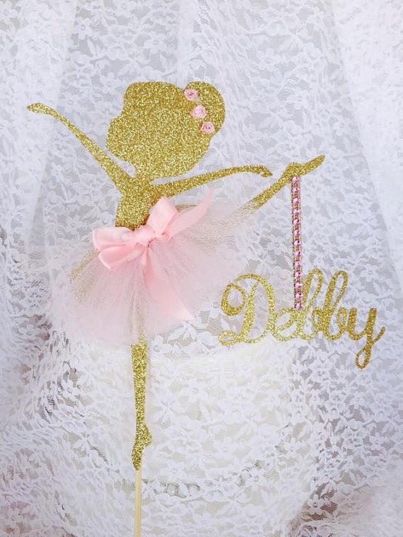 ballerina cake topper best 25 ballerina decorations ideas on 1463