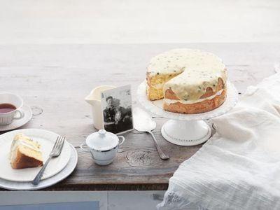 Passionfruit Sponge Cake recipe