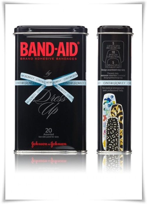 Dress-Up Band-Aids by Cynthia Rowley: Band-Aid Brand by Cynthia Rowley