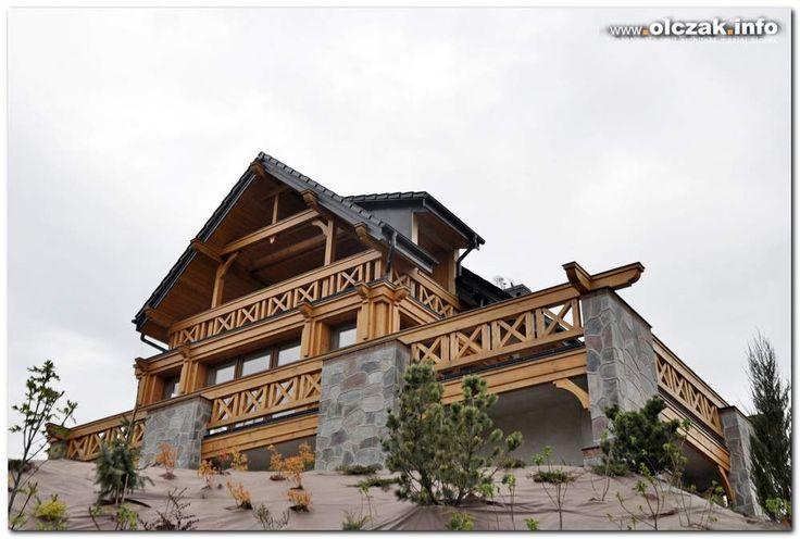 Architekt Maciej Olczak - dom alpejsko-mazurski