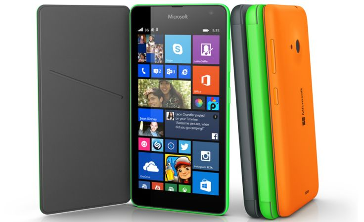 Microsoft's new Lumia 535 costs $140 and is its first non-Nokia smartphone | TechCrunch
