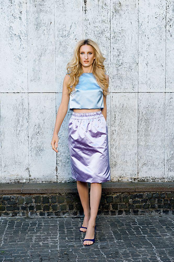 MFD duchesse top and skirt.